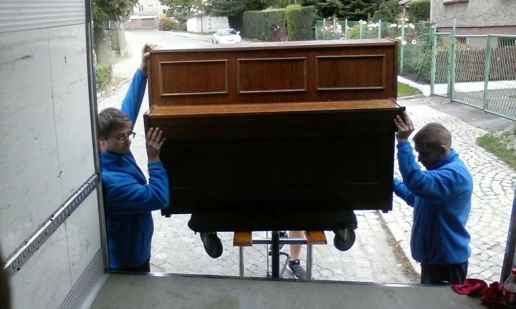 transport pianin wrocław